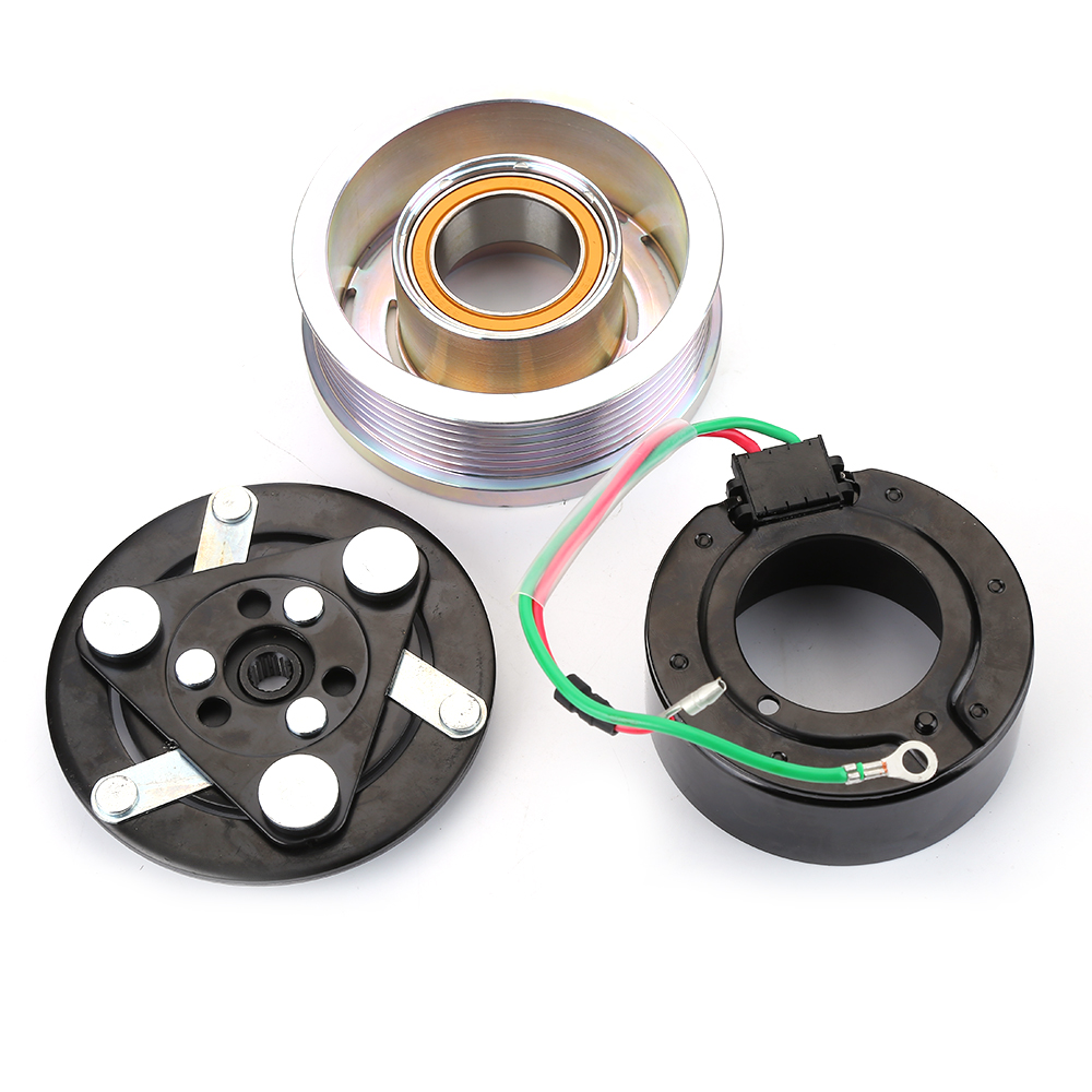 AC A C Compressor Clutch Kit Pulley Bearing Coil Plate For HONDA CR-V CRV 07-14 by oobest