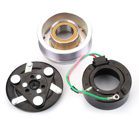 AC A/C Compressor Clutch Kit Pulley Bearing Coil Plate For HONDA CR-V CRV 07-14 - Honda Spring Clutch Kit