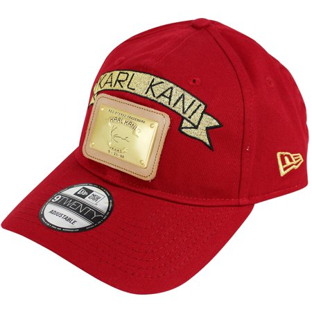 Karl Kani - Karl Kani New Era Gold Plate Dad Hat Embroidered Baseball Cap  Black Red White - Walmart.com c9c0a9aff59
