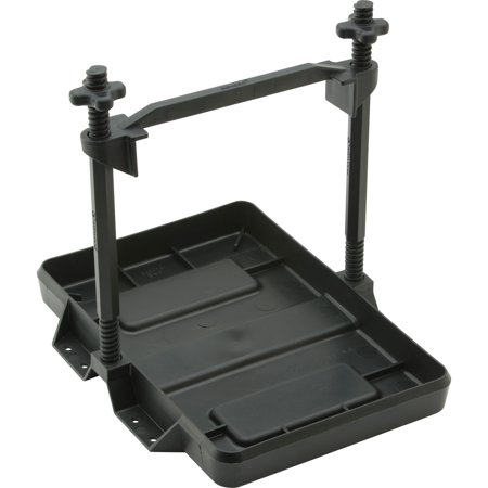 Attwood All Plastic Heavy Duty Battery Tray (Truck Battery Tray)