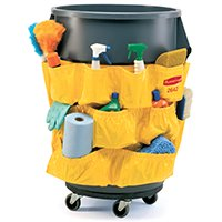 Brute Rim Caddy (Rubbermaid Brute 1913171 Caddy Bag Container, Vinyl Blade )