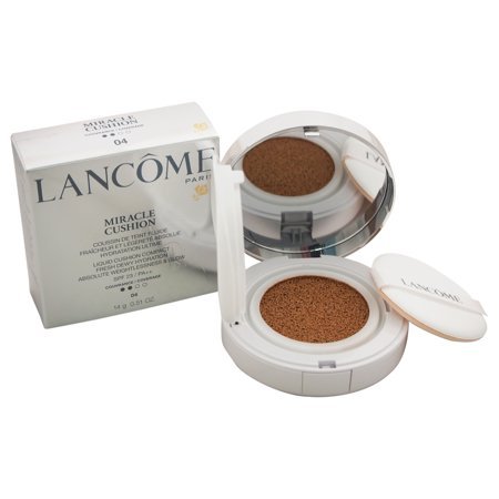 Miracle Cushion Liquid Cushion Compact SPF 23 - # 04 Beige Miel by Lancome for Women - 0.51 oz Foundation ()