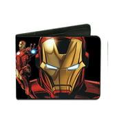 Buckle Down Size one size Men's Iron Man Billfold Wallet