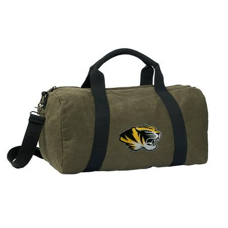 Broad Bay University of Missouri Duffle Bag CANVAS Missouri MIZZOU Luggage  Bag