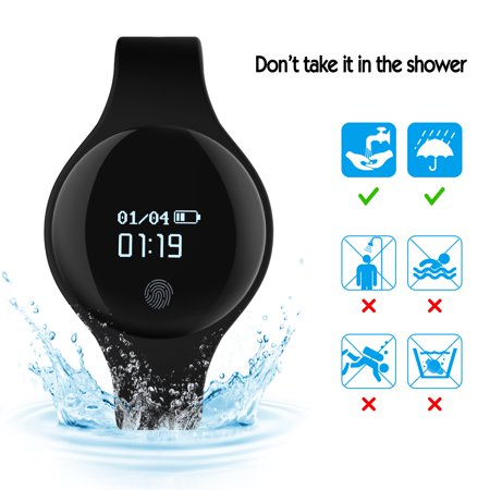 Image Waterproof Fitness Tracker Watches GPS Tracker for Android IOS