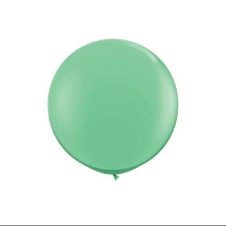Koyal Wholesale Round Latex Giant Balloon (Pack of 2), 3', Wintergreen - Balloon Wholesale