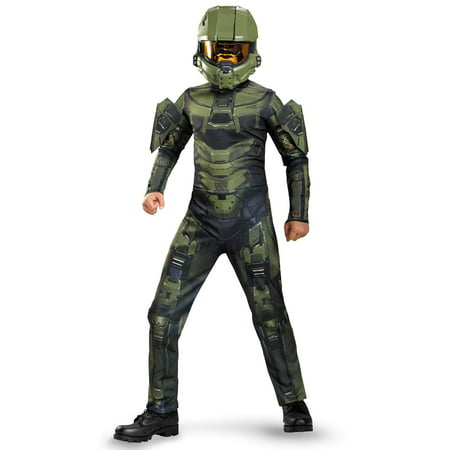 Halo Master Chief Classic Child Costume - Boy With Halo