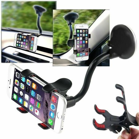 Universal Car Windshield Dashboard Suction Cup 360 degree Mount Holder Stand for Cellphones iPhone Android