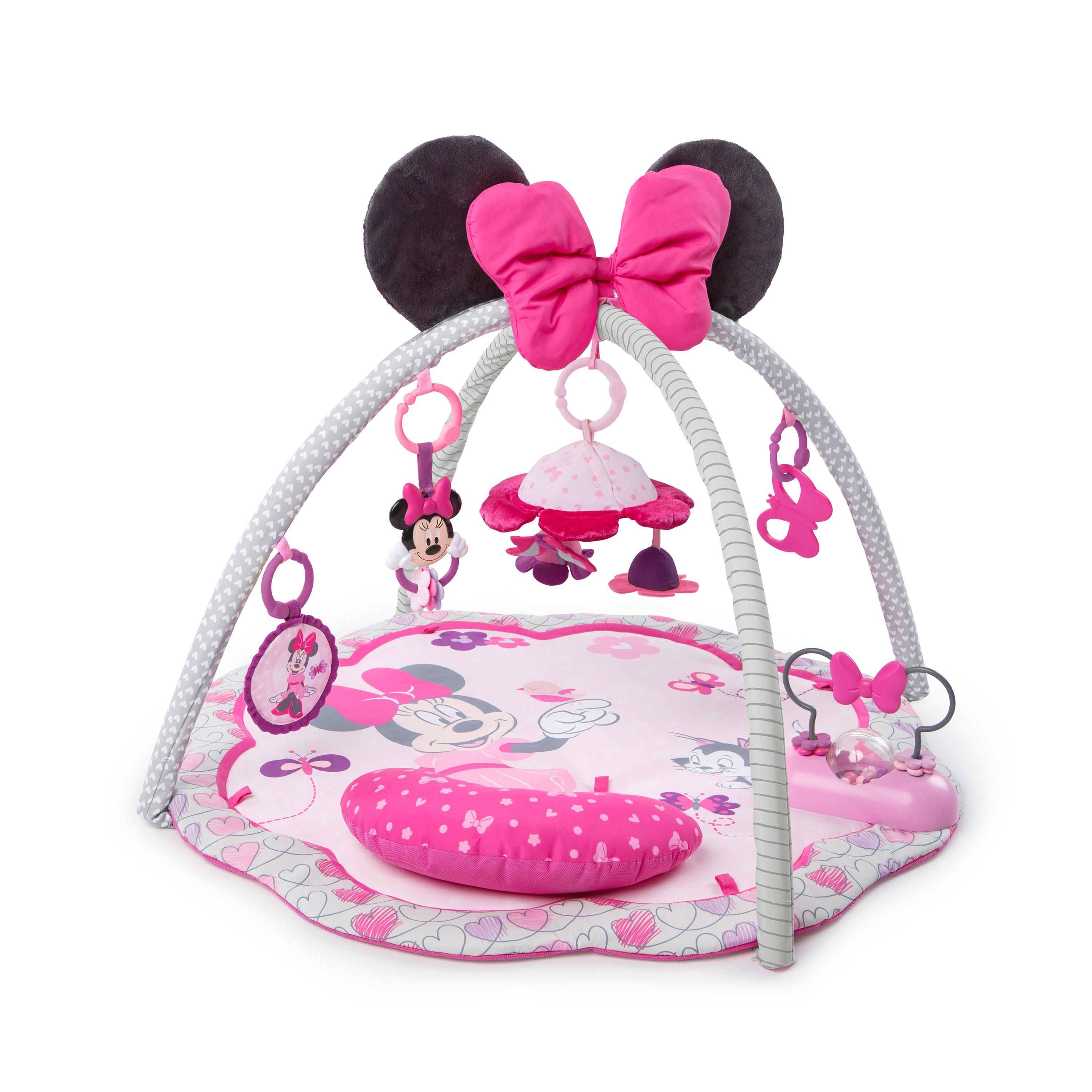 Disney Baby Minnie Mouse Activity Gym and Play Mat - Garden Fun