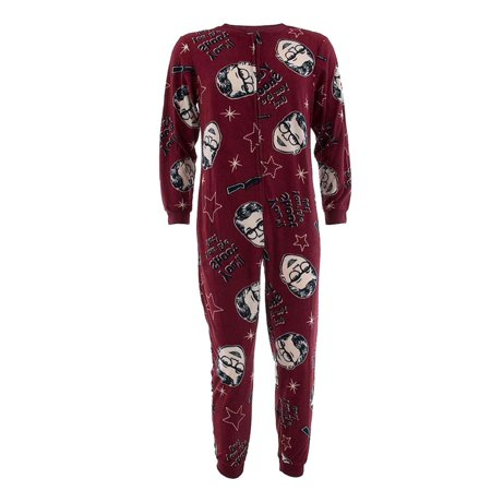 WebUndies.com - A Christmas Story Mens You ll Shoot Your Eye Out Union Suit  Sleeper Pajama - Walmart.com 253ac9e7c