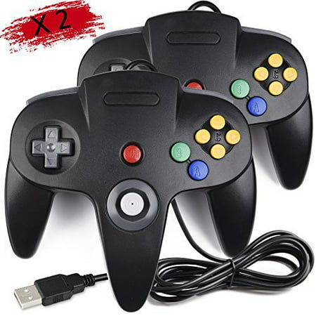 Retrolink nintendo 64 classic usb enabled wired controller for pc.