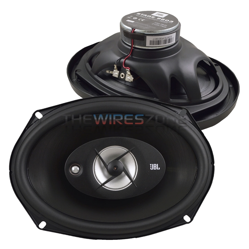 "JBL Stage 9603 6"" x 9"" 3-Way 210 Watts 4 Ohm Car Audio Speaker (pair) 6x9 210W"