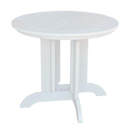 Highwood EcoFriendly Round Diameter Dining Table Walmartcom - 36 diameter dining table
