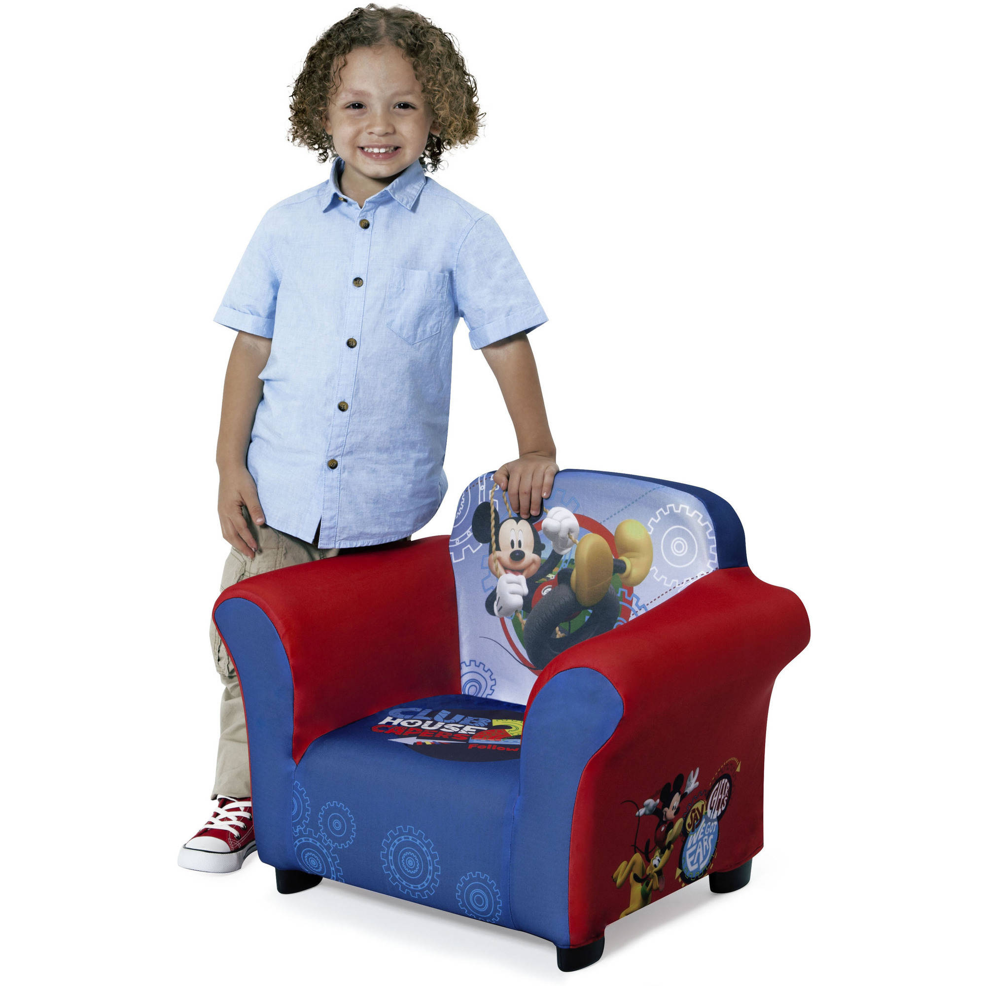 Delta Children Mickey Mouse Upholstered Chair   Walmart.com