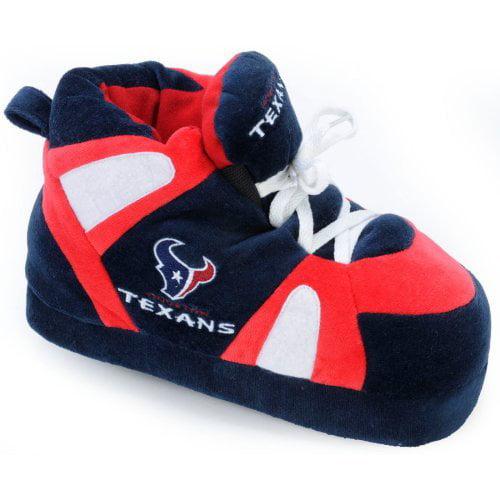 Comfy Feet NFL Sneaker Boot Slippers - Houston Texans
