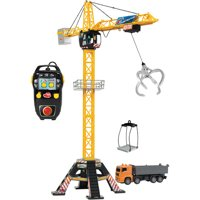 Dickie Toys Mega Crane Remote Control Set with Truck