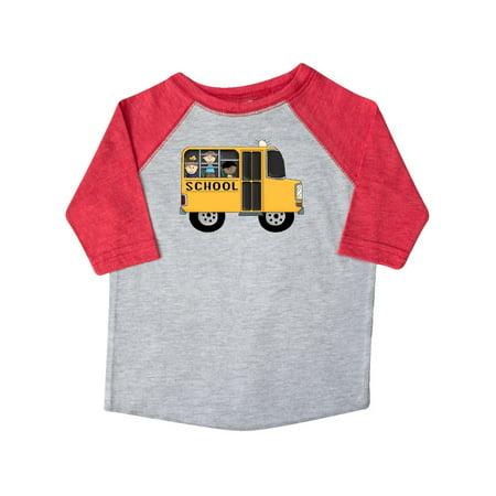 School Toddler Tee (School Bus Toddler T-Shirt )