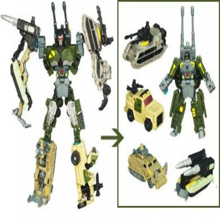 Power Combiner - Transformers Power Core Combiners Bombshock Action Figure