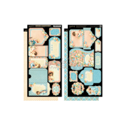 """Precious Memories Cardstock Die-Cuts, 6"""" x 12"""" Sheets, 2pk, Tags and Pockets"""