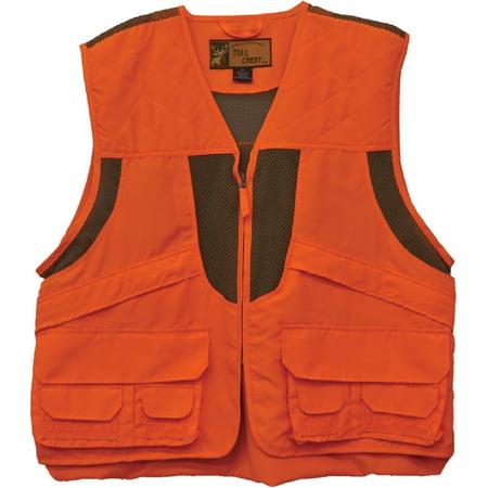 Deluxe Front Loader Hunting Vest (Orange, - Orange Vest
