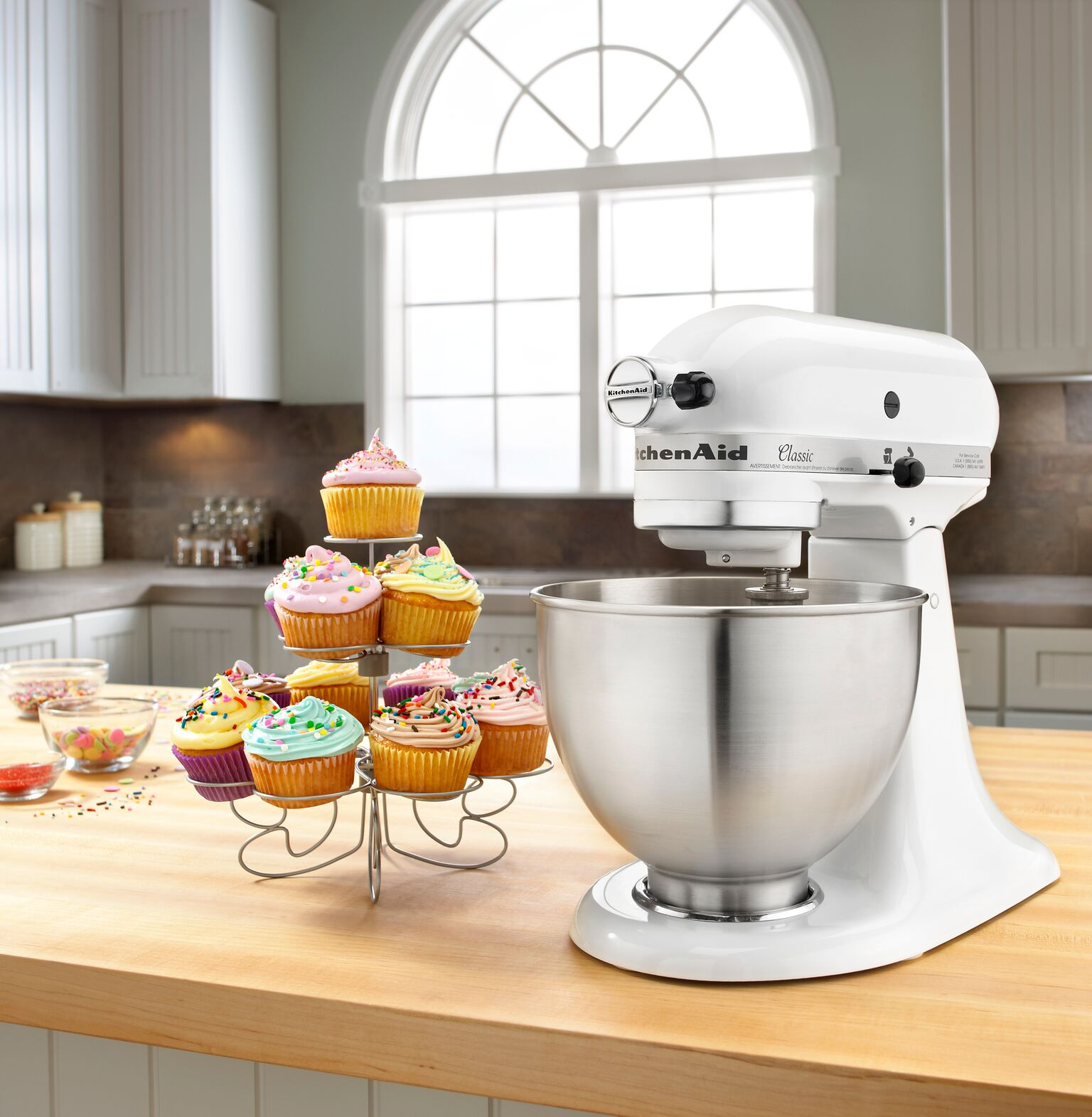 Kitchenaid Classic Series 4 5 Quart Tilt Head Stand Mixer White K45sswh Com
