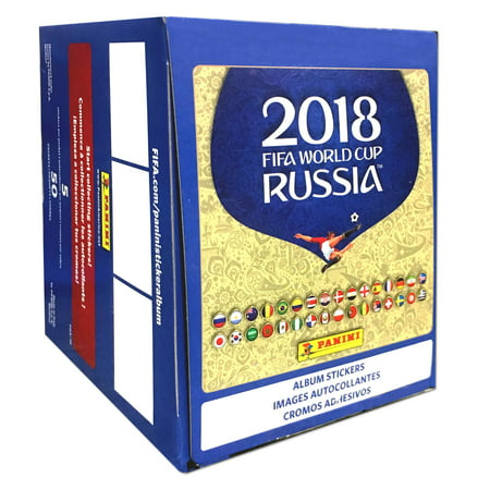 Adidas World Cup Soccer Shoes - 18 Panini World Cup Soccer Sticker Pack Box 50CT Trading Cards