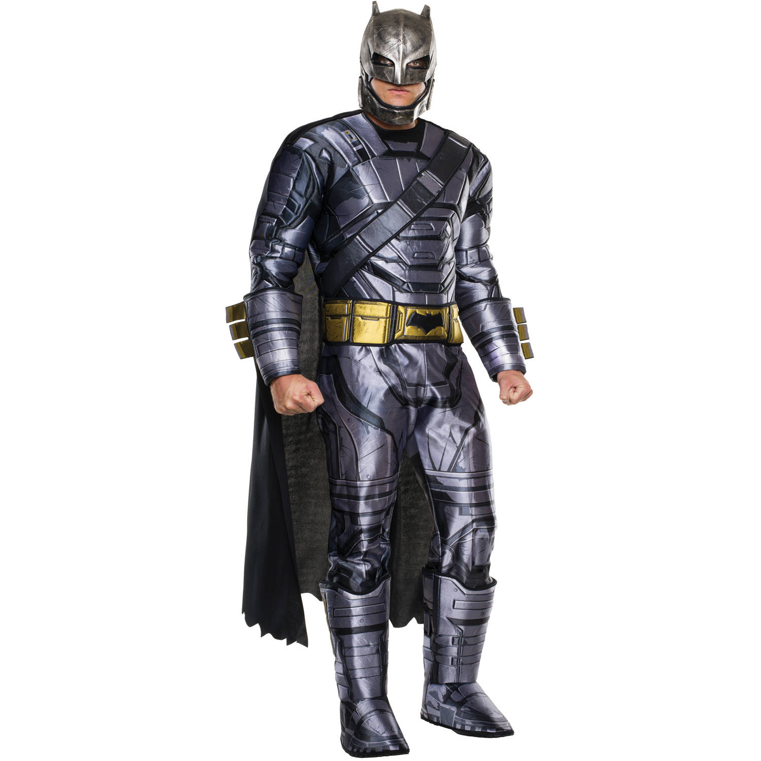 Deluxe Batman Armored Adult Halloween Costume