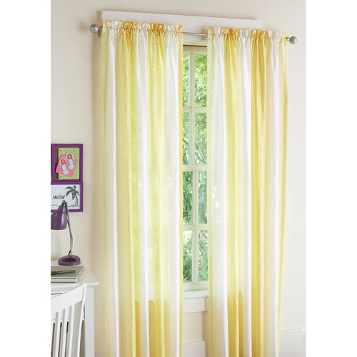 your zone ombre window panel, set of 2