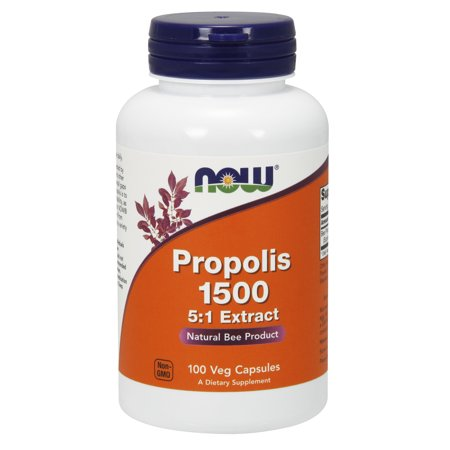 NOW Supplements, Propolis 1500 mg with 5:1 Concentrate, 100 Veg -