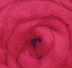 Wool Roving 12 .22 Ounce-Berry Multi-Colored