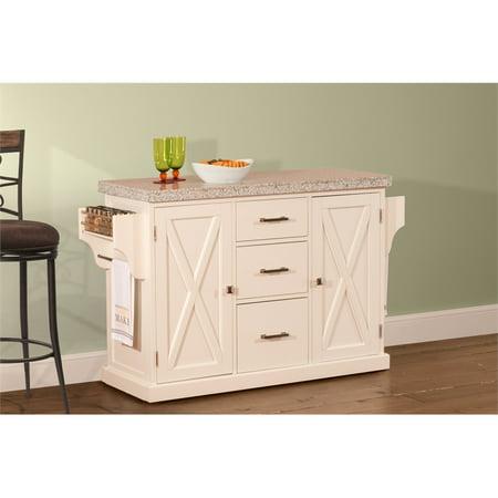 Hillsdale Furniture Brigham Solid Wood Kitchen Island
