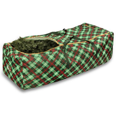 Honey Can Do Limited Edition Plaid Rolling Tree Storage (Limited Edition Cart Bag)