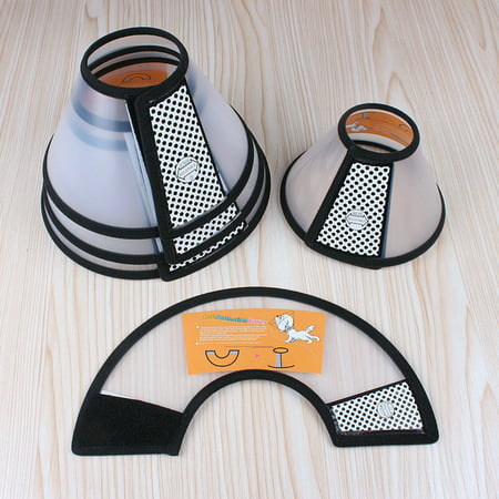 Pet Dogs Cats Cone Protective Collar Wound Healing Protection Cover Size:7# - image 5 de 8