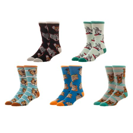 License Hanna Barbera 5pk Socks