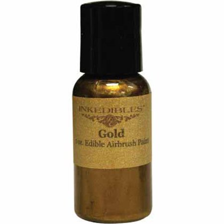 InkEdibles Airbrush 60mL Ink, Gold