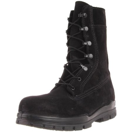 Bates Womens Suede Steel Toe Combat Boots