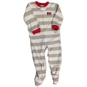 toddler boys pajamas carter s little boys stripe mini firetruck footed fleece pajama toddlers