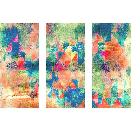 Marmont Hill 'Mix Mash Triptych' Painting Print on Wrapped Canvas - Halloween Mix Monster Mash