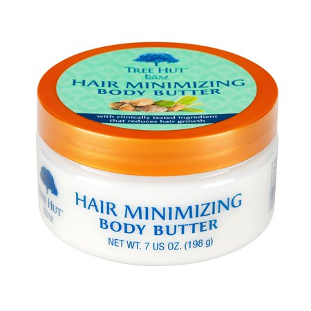 Tree Hut bare Hair Minimizing Body Butter, 7oz, Essentials for Soft, Smooth, Bare Skin (Art For Kids Hub Halloween)