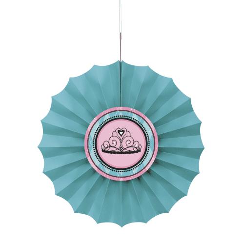 Fairytale Princess Paper Fan Decoration
