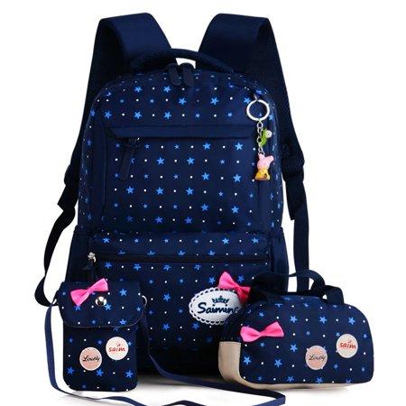 6267fc6ee Successful Products - 3 in 1 Kid's Backpacks Girls School Backpack ...