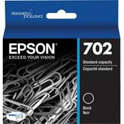 Epson 702 Standard-capacity Black Ink Cartridge for WF-3720 & WF-3733