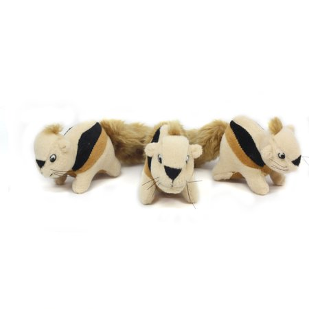 Replacement Hide a Squirrel Squeak Toys by Outward Hound, 3 (3 Pack Toy)