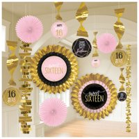 Sweet 16 'Blush' Deluxe Decorating Kit (13pc)