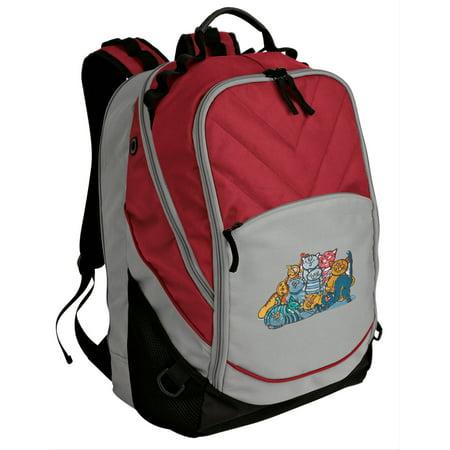 4f861e780d71 Broad Bay – Cat Backpack Our Best Padded Crazy Cat Laptop Bag – Walmart.com