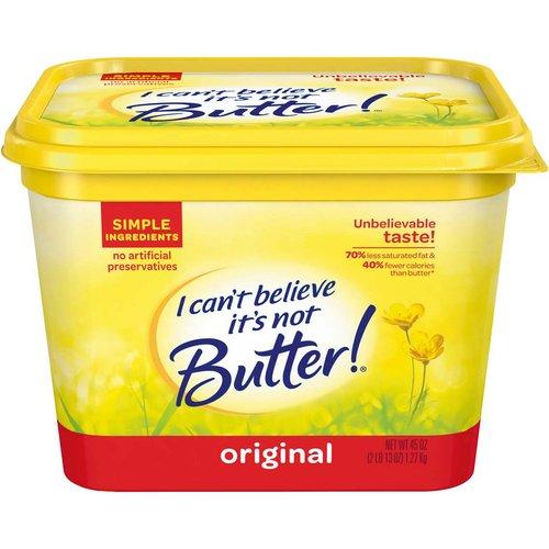 I Can't Believe It's Not Butter! Original Buttery Spread, 45 oz