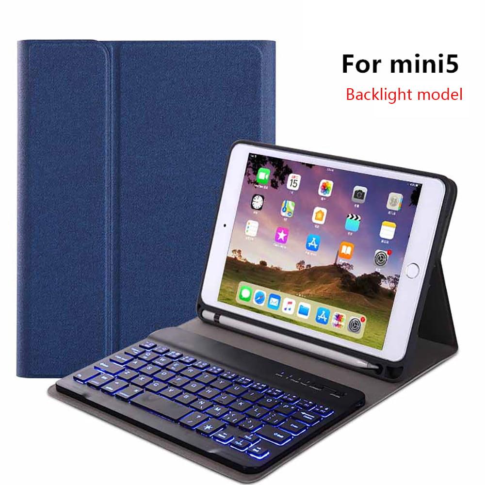 detachable bluetooth keyboard case for ipad mini 4 ipad mini 5 ipad mini 2019 ultra thin