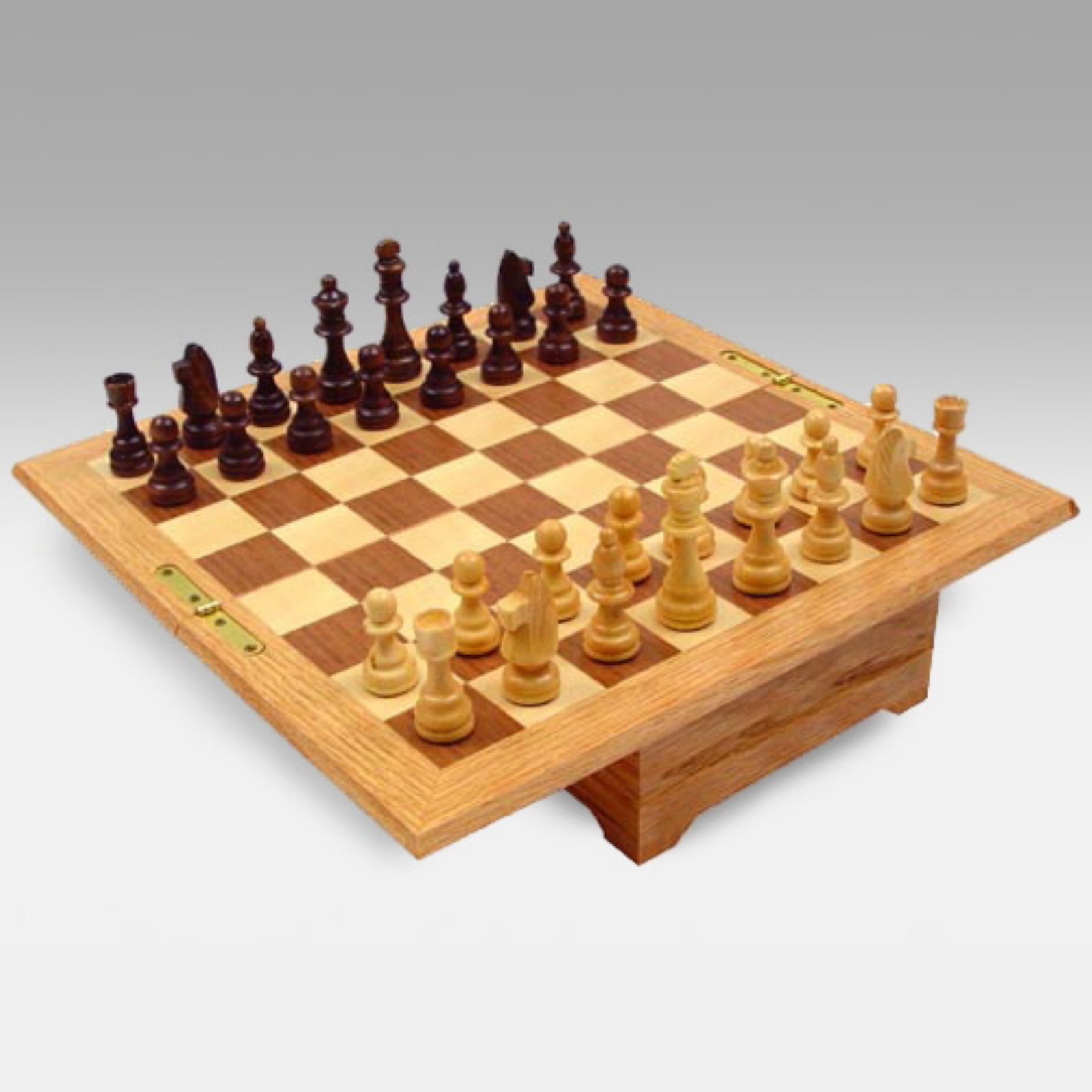 All American Chess & Checkers Set by Cambor Games