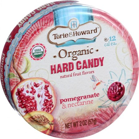 Torie And Howard Organic Hard Candy - Pomegranate And