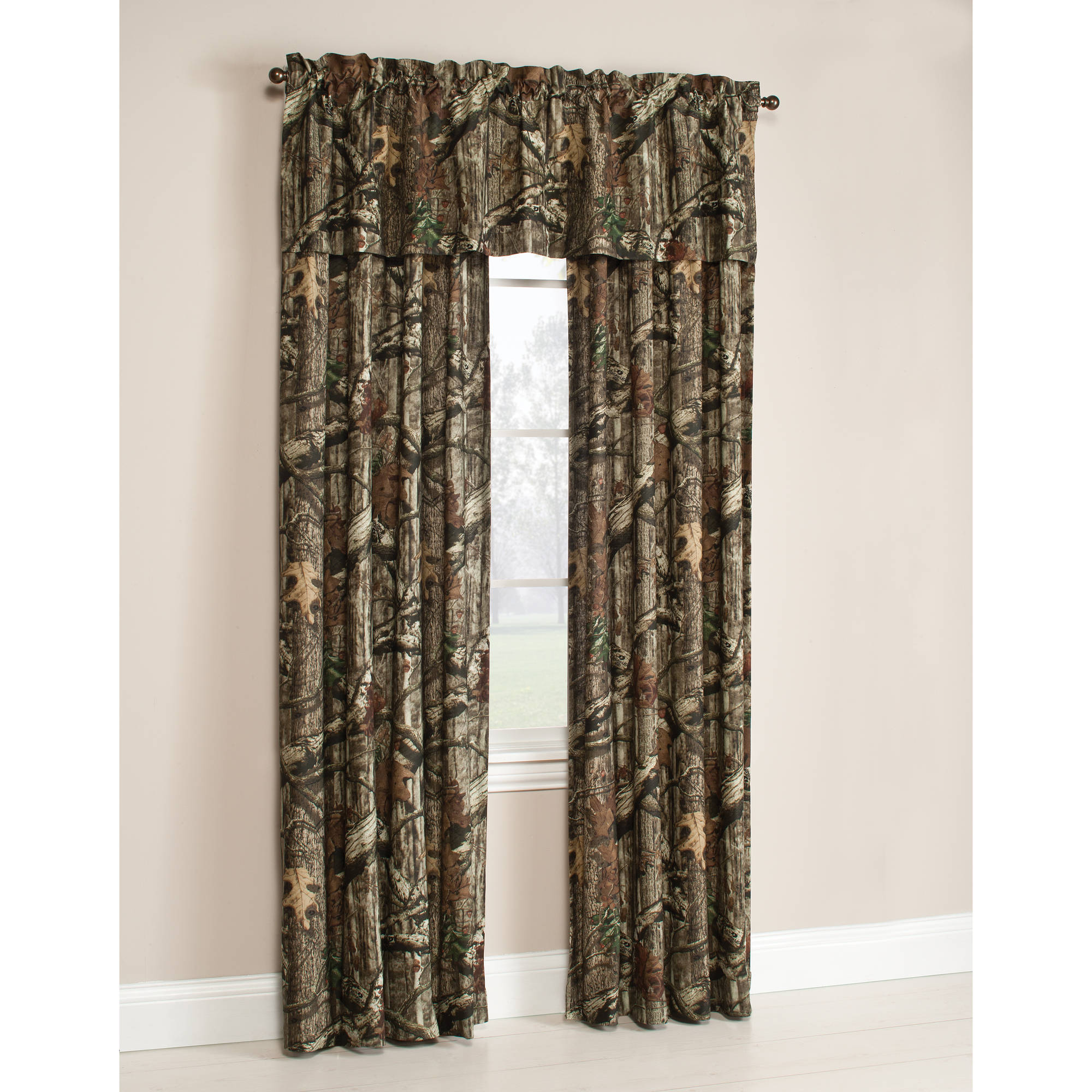 Country curtains logo - Mossy Oak Break Up Infinity Camouflage Print Window Curtain Panels